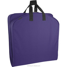 High Quality Customized Polyester Zipper Lock Garment Bag Suit Cover