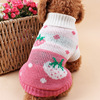 Hot sale knitted pet dog sweater for chihuahuas
