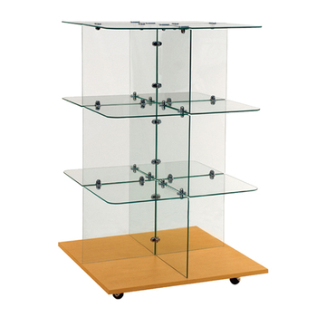 Glass Cube Used Jewelry Cheap Small Display Cases With Wheels Buy