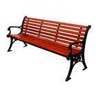 public bench, cast iron and wood garden bench,wood bench slatsbench for public park