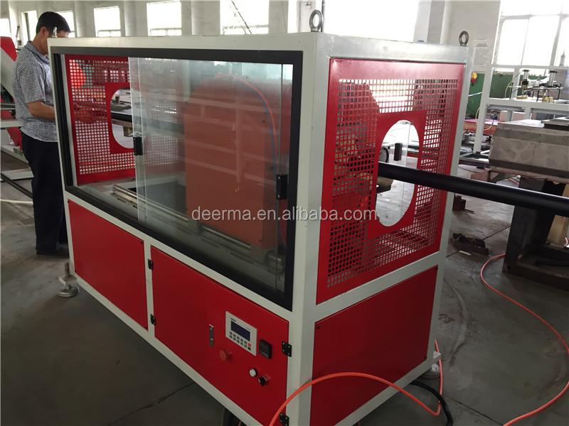 خط إنتاج أنبوب إمداد بالماء البولي ايثيلين/250 مللي متر HDPE ماكينة صنع الأنابيب