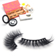 Fake Lashes Pink Case Wholesale Fake Eyelashes 50pack