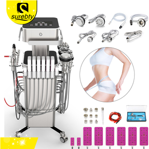 Spa Centre 8 in 1 Professional ultrasound laser Cavitation Machine Diamond Dermabrasion BIO face lifting skin care Machine