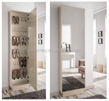 Shoe Racks Design Big Tall Big Shoe Cabinet With Mirror For Home Part 94