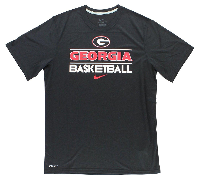 Get Quotations · Nike Georgia Bullodgs NCAA Basketball Dri-FIT Team Issue  Practice T-Shirt d89042b6d