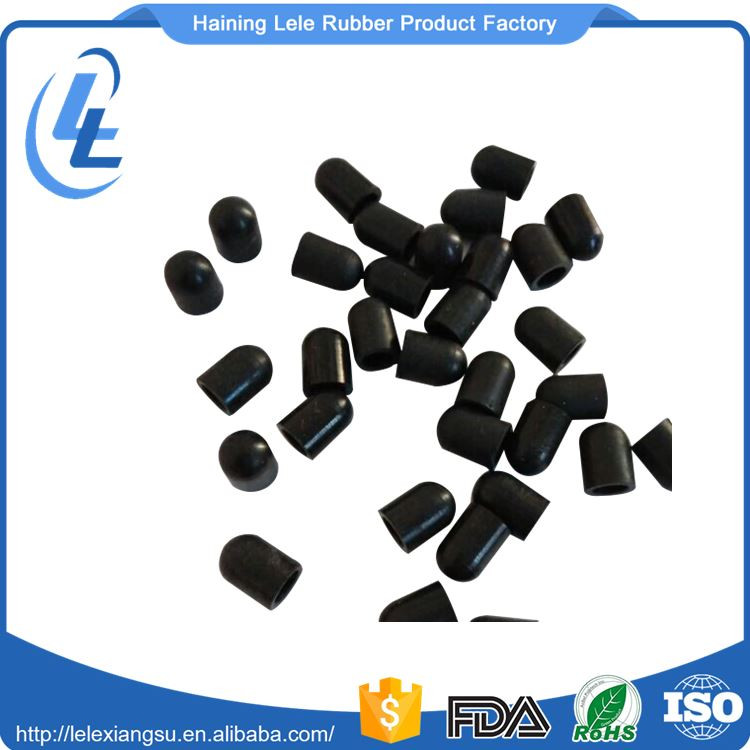 Custom insulation silicone high quality rubber end cap for pipe sealing