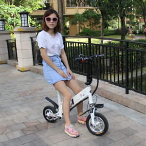 250w green power city foldable electric bicycle e bike with big wheels