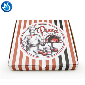 Wholesale Cheap Empty Custom Pizza Boxes With Logo,Low Price Design Delivery Pizza Box