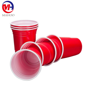 Custom & OEM Disposable 16oz PP Plastic Cup Red Cup / American Red Cups / party Beer Pong Red Cups