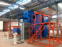 rotational moulding machine 2 arms/3 arms/4 arms full automatic extrusion blow moulding machine