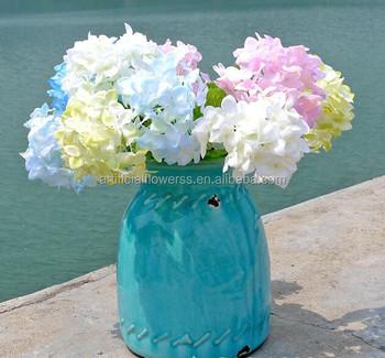 Mini craft artificial silk hydrangea flower making for home mini craft artificial silk hydrangea flower making for home decoration mightylinksfo