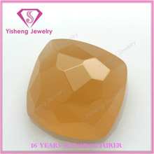 wholesale colorful Brazil juquil Jade glass gemstone random cutting price