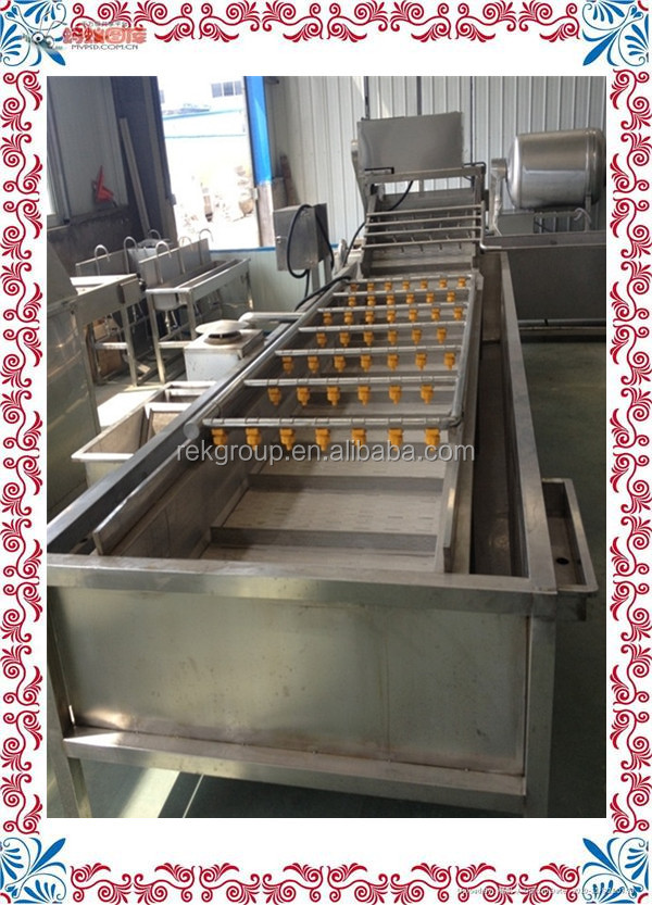 Patented Fruit and vegetable cleaning line for sale with CE approved