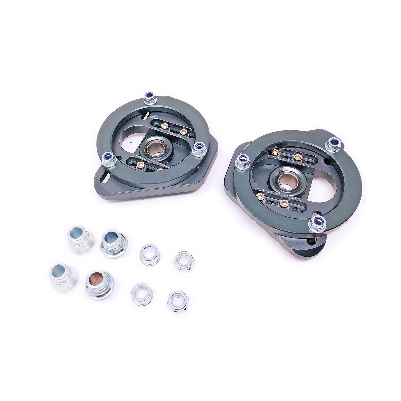 Godspeed MSS-THE02-B BMW 3-Series/M3 99-05 (E46) Adjustable Front Camber & Caster Plate