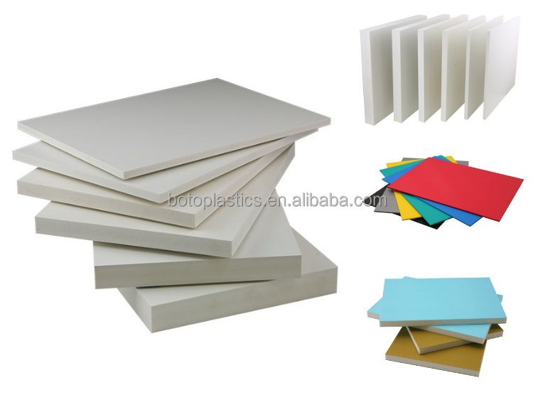 4x8 PVC co-extrusion board PVC cutting board PVC shuttering board