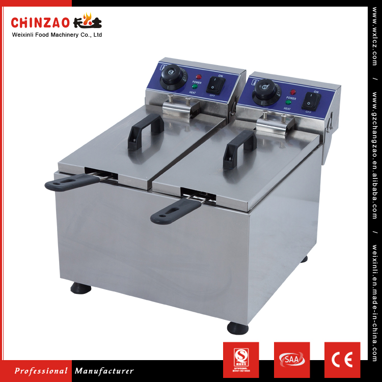 CE SAA Approved DZL-062B Professional Kitchen Equipment commercial chicken pressure fryer For sale