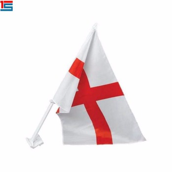 30*45cm custom packed in opp bag England national car flag