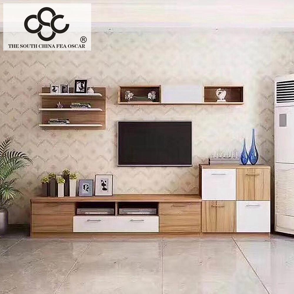 Modern design set living room tv cabinet led stand classic led tv unit furniture