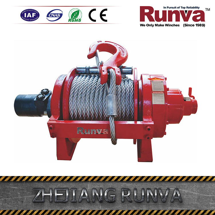 Runva Patent Two Stage Planetary Gear Reducer China Manufacture Hydraulic Anchor Winch Price