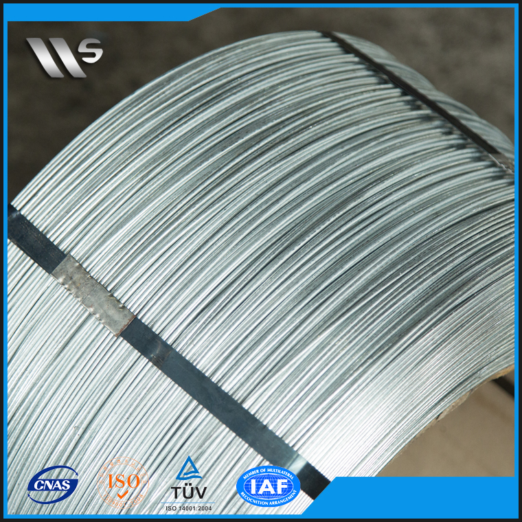 electric galvanized wire for vineyards, galvanized wire price