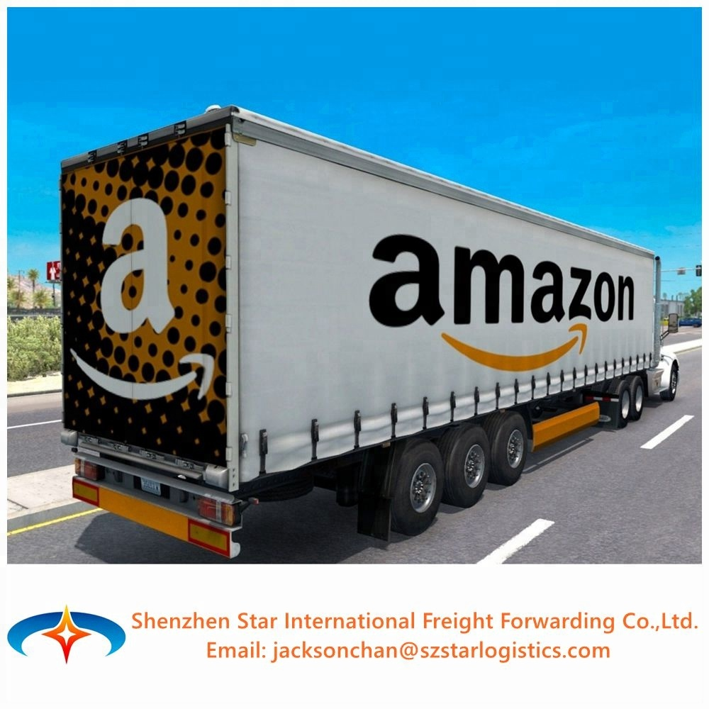 Cheap air/seefracht/versand Amazon FBA spediteur von China Ningbo Guangzhou Shenzhen nach USA FBA amazon lager.