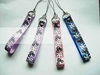 Cute cell phone sublimation lanyard no minimum order
