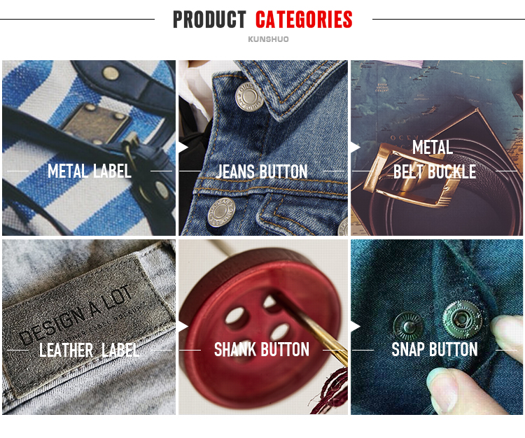 OEM decorative accessories logo design round press shirt bag cloth brass Zinc alloy cover custom metal snap buttons for clothes
