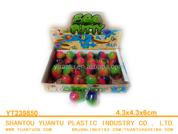 Capsule Slime Toys Egg Putty Toys