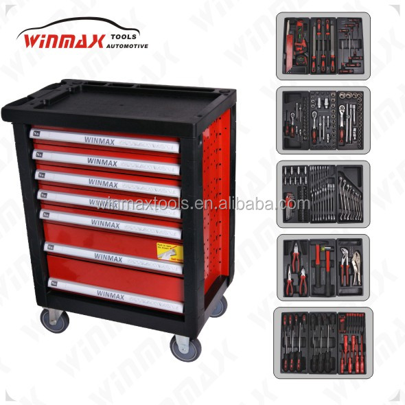 2017 roller tool cabinet / Professional tool trolley with tools