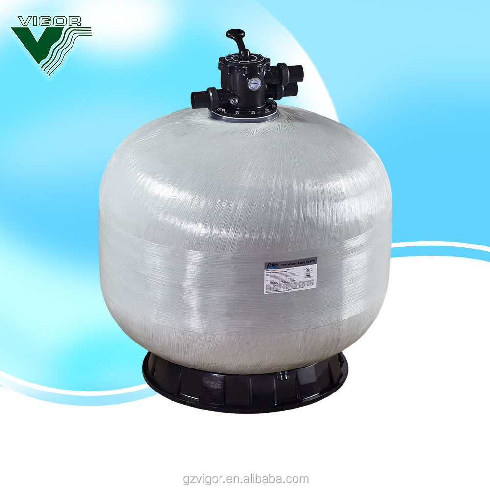Factory swimming pool equipment/industrial sand filter/sand filter price