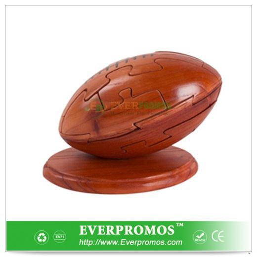 Wooden Football Puzzle For Brain Training