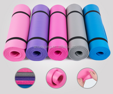 Wholesale black custom printed bamboo EVA/NBR/PVC/TPE eco yoga mat manufacturer with yoga mat bag