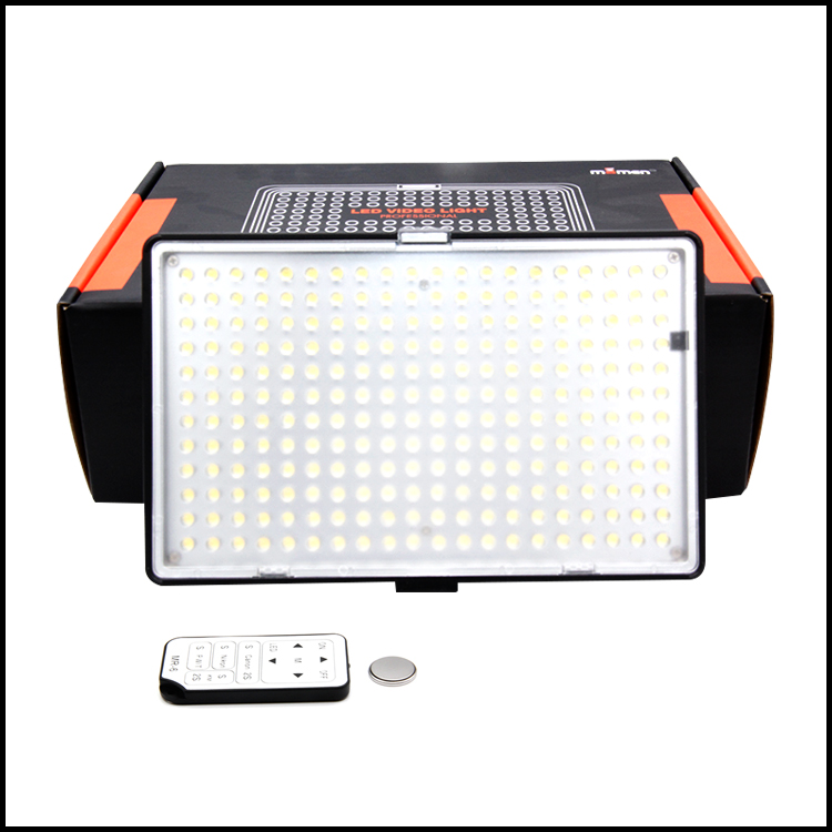 New Arrival Durable Quality Digital Camera LED Light KM-240A 5600K LED Video Camera Light For DSLR Studio Perfect Shooting