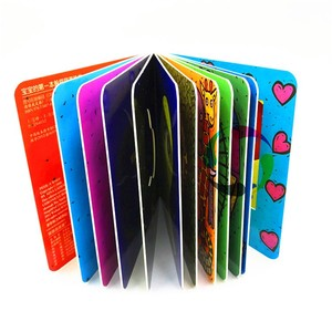 your hot hardcover thick cardboard board children english story kid color book for kids