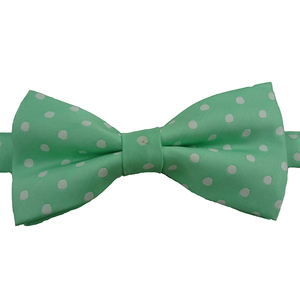 Sale high quality white dot bowtie for man
