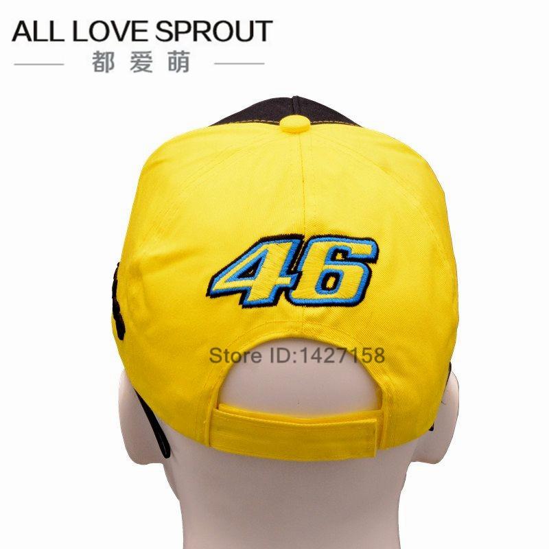 ︻2017 Cotton VR46 Racing ⓪ Cap Cap Rossi Signature Moto Gp ... 486e73868253