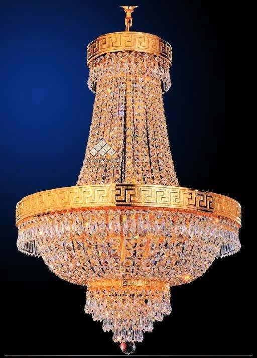 Lmpara chandelier de cristal lmparas y luces colgantes lmpara chandelier de cristal aloadofball Choice Image