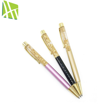Color promotional gold foil oil ballpoint pen