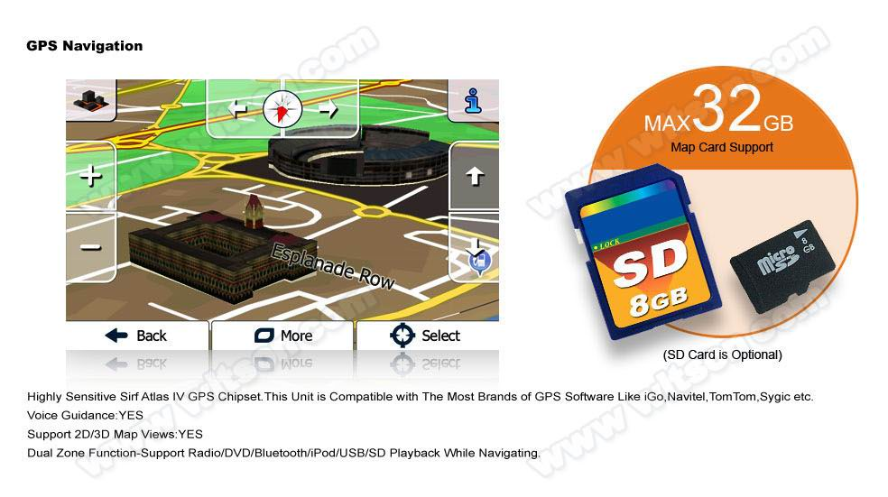 WITSON 내장 Mirror Link Function 차 DVD PLAYER 대 한 TOYOTA COROLLA/레빈 2014 Support Max 32 기가바이트 SD/ USB/HD 1080 P HD Video