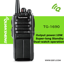 10W Powerful UHF Two-Way Radios High Output 4000mAh Battery