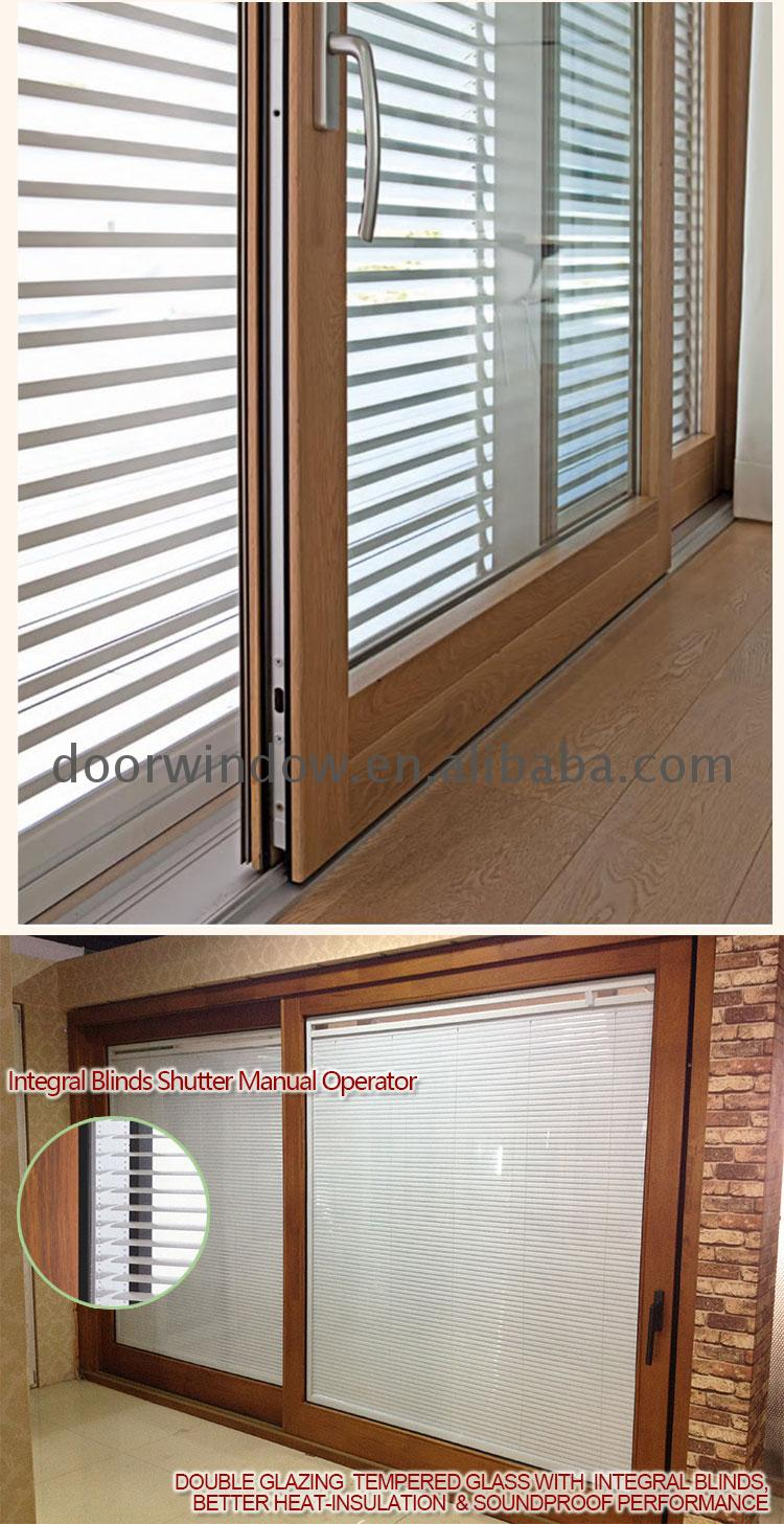 OEM Factory fancy sliding patio doors extra wide exterior