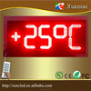 "Waterproof 8""10"" 12""16""18""20""24""inch LED numbers boards LED petrol gas price station SIGN /LEDTime Temperature display panel"