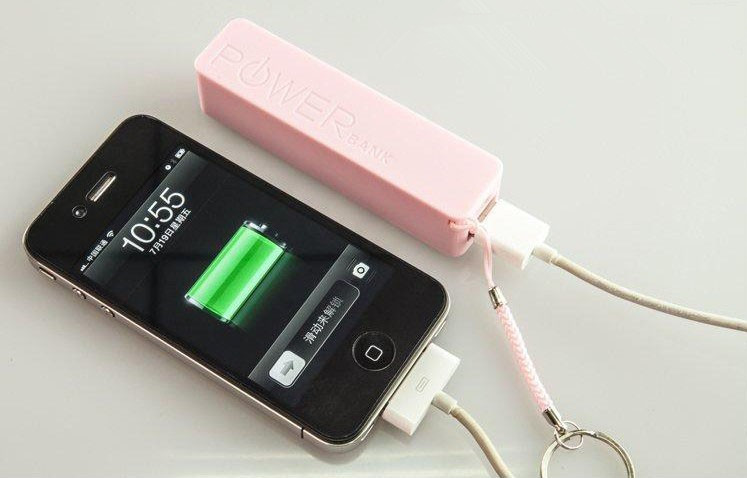 from professional factory power bank 2600mah for iPhone/backberry/Sumsung/HTC perfume power bank