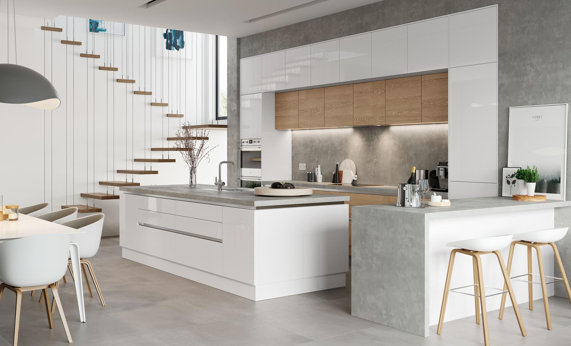 Kitchen Garbage Can Storage Cabinet Trash Bin For White Kitchen Floor  Cabinet - Buy Trash Bin For Kitchen Cabinet,White Kitchen Floor  Cabinet,Kitchen ...