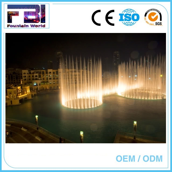 water screen led underwater light artificial wall glass waterfall fountain