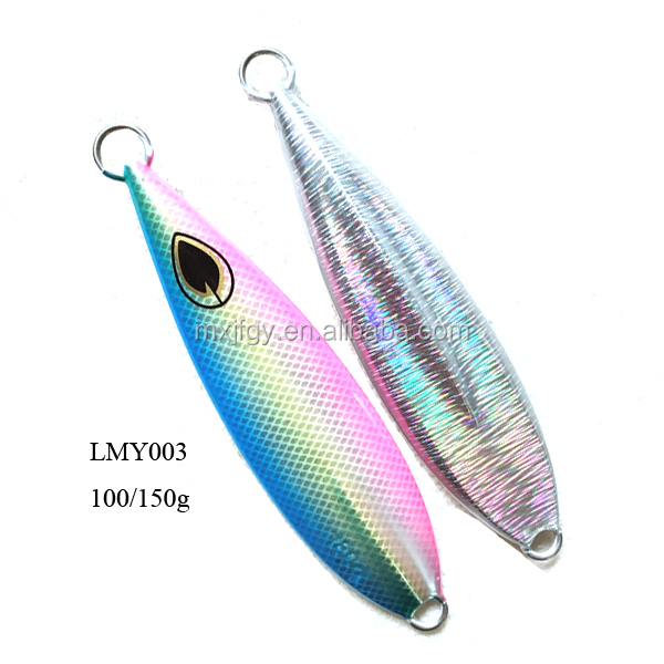 Saltwater Fishing Casting Metal Jig Lead Slow Pitch Jigs