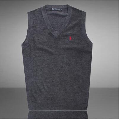Бренды осень зима мужчины святого с v-образным вырезом жилет свитер кашемир пуловер жилет свитер