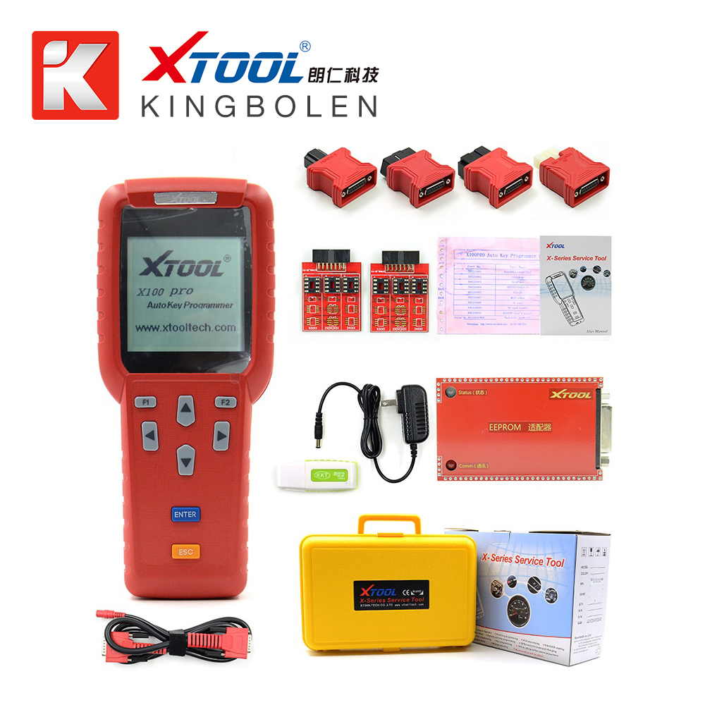 Original Xtool X100 PRO Auto Key Programmer X100+ Updated Version X 100 Programmer X-100+ Key Programmer Update Online