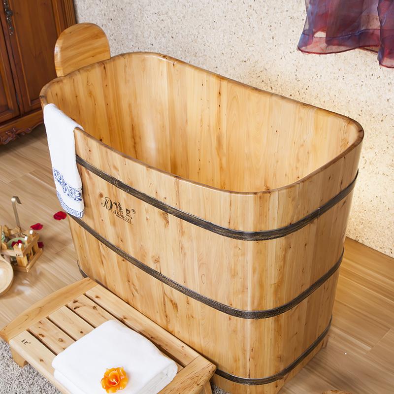 Mini salle de bains baignoire de luxe / bois de cèdre baignoire ...