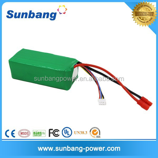 high quality rechargeable lipo 3S 10C 5200mah 11.1v rc car battery for rc plane brushed motor